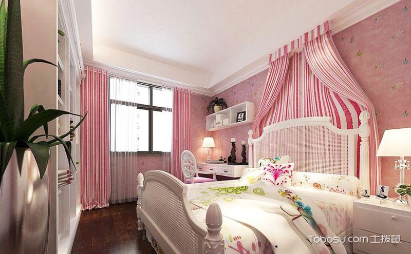 儿童房窗帘效果图,给孩子一个五彩斑斓的世
