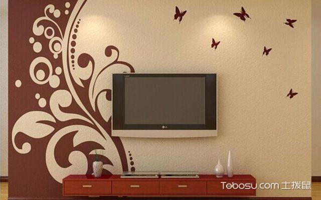 电视墙硅藻泥 变化多样适应性强图片