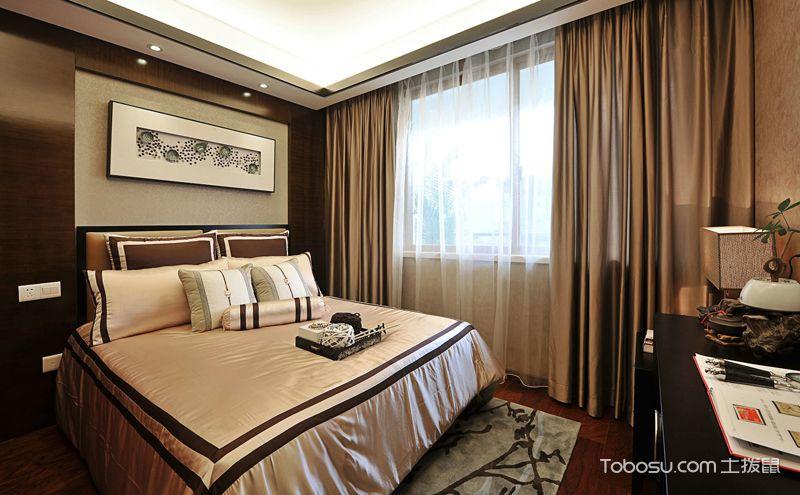 来自中式风格的继承者,新中式卧室装修效果图