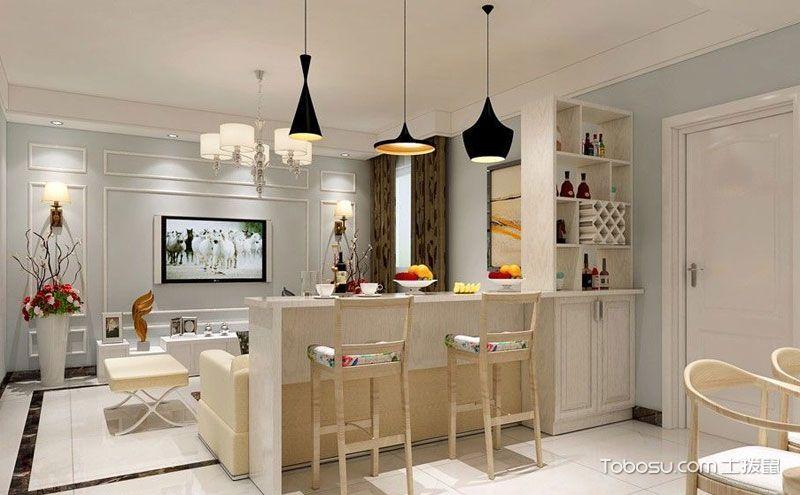 家居吧台装修效果图,精彩享受多元化生活