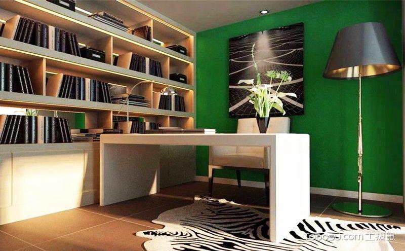10平米书房装修图,小空间的实用美观魔法