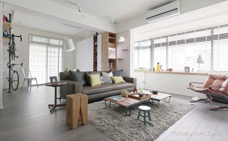 北欧风格室内装修效果图,感觉舒适度已经爆