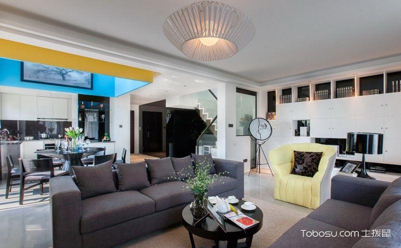 楼房室内设计效果图,时尚空间美学
