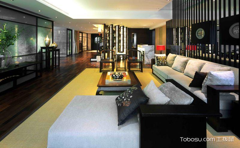 现代中式装修风格,清透自然的东方时尚