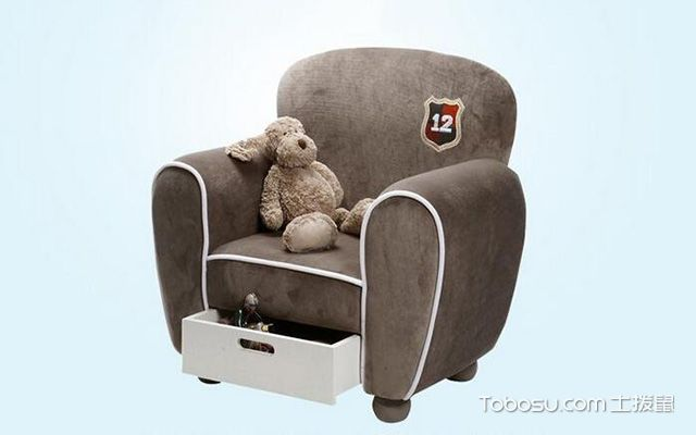 儿童储物沙发椅