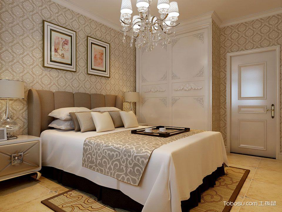 简欧风格装修案例卧室装修效果图