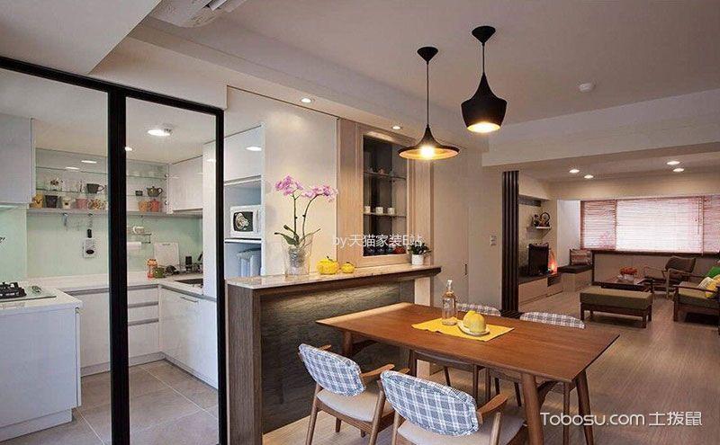 厨房与餐厅隔断,交换空间的正确打开方式