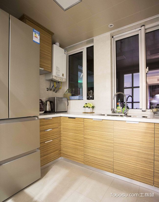 98平米小复式装修样板间_厨房