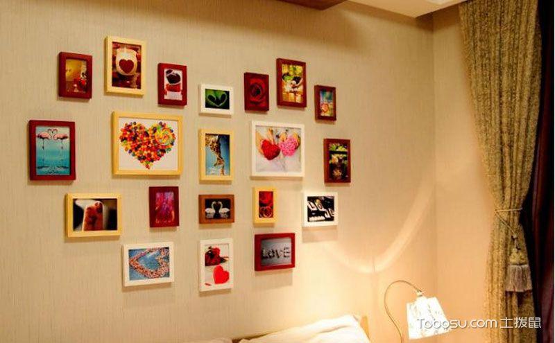 心形照片墙,细细回味那些被定格的美好