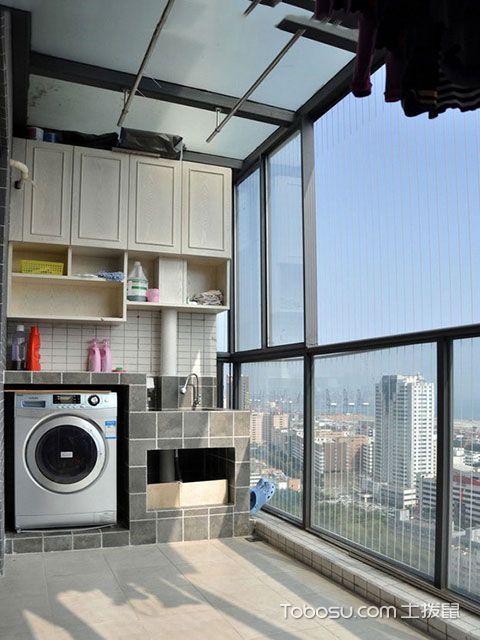 阳台洗衣机