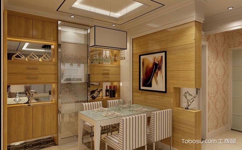 厨房隔断酒柜效果图,精心装点单调隔断门