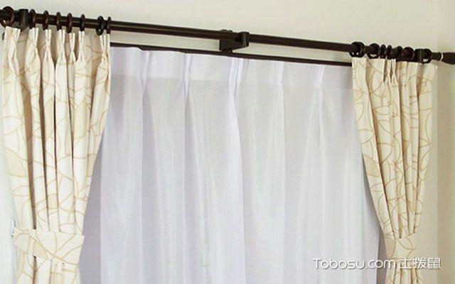 怎样安装窗帘杆
