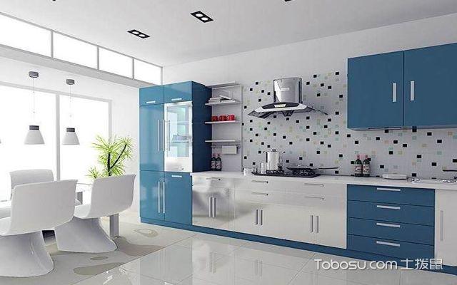 厨房色彩搭配法则