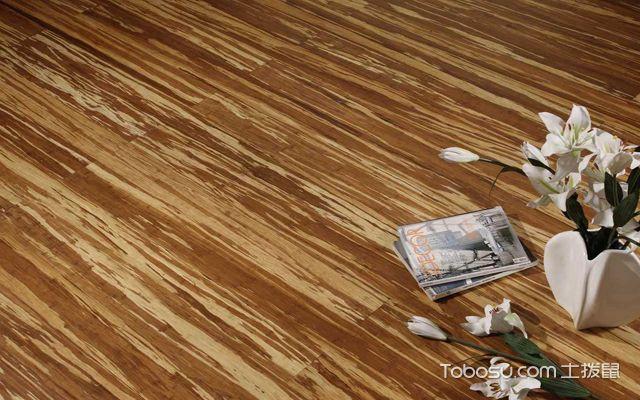 竹地板铺贴