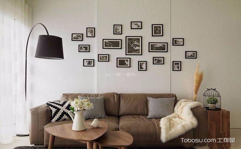 90平北欧风格装修二居室,放飞自由的质感美居
