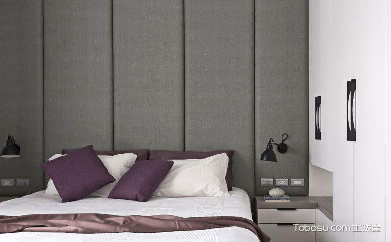 床头软包背景墙装修效果图,美不美看气质