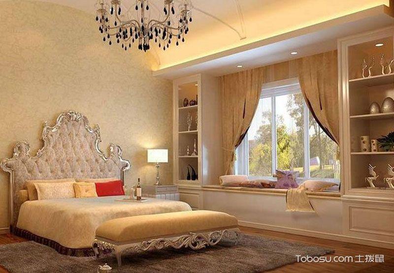 主卧室飘窗装修设计效果图,私人专属巧致生活