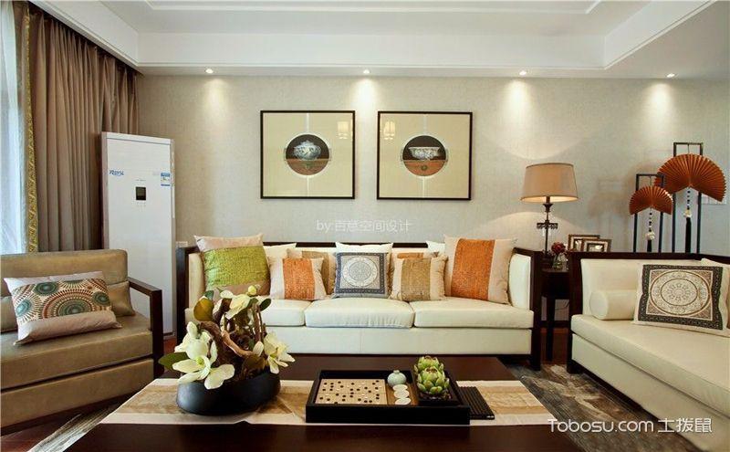 90平中式风格装修样板间,温婉宁静的家居魅力