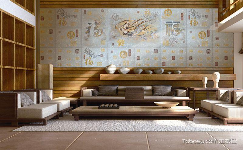 瓷砖背景墙效果图,提升家居颜值妥妥的