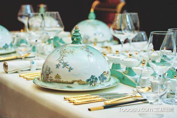峰会中式餐具效果图鉴赏