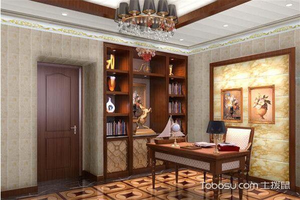 书房集成墙面装修图片