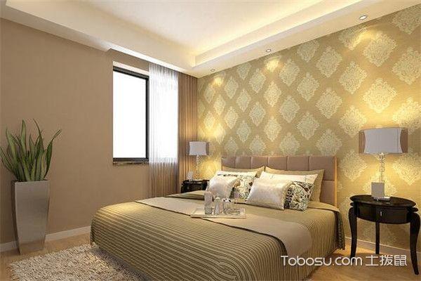 90平米小三房卧室装修图