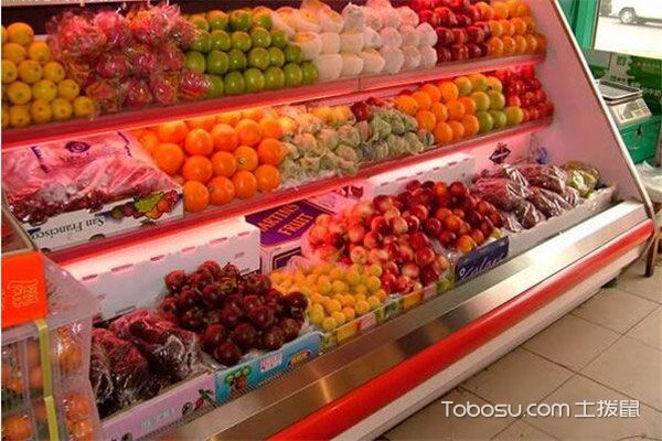 水果店冷藏柜装修效果图