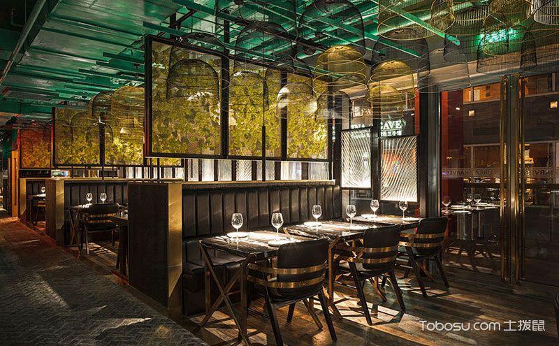 奇幻森林特色主题餐厅装修效果图图片