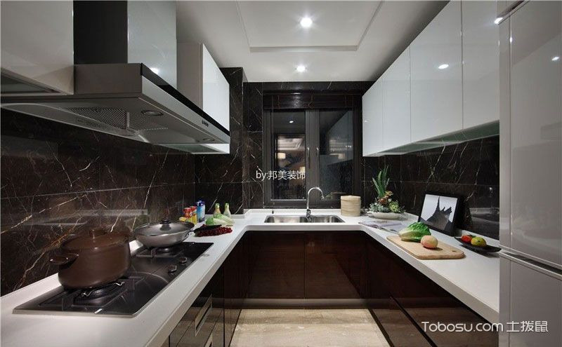 新中式厨房装修效果图,轻松自在烹饪