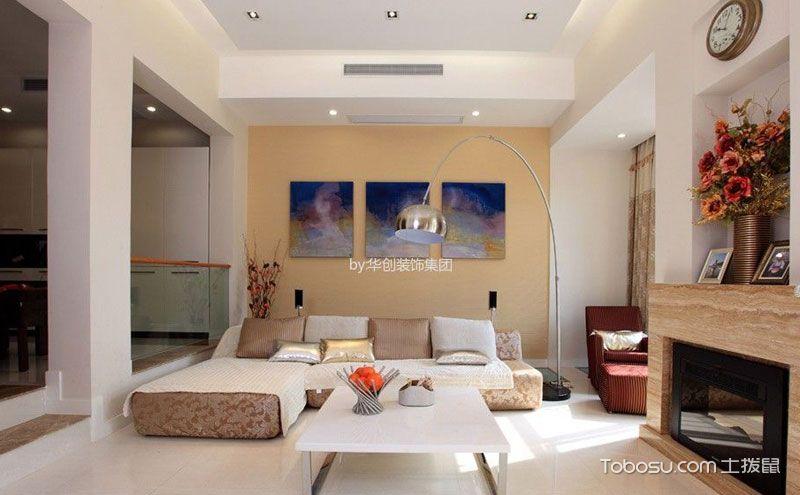 客厅地砖拼花效果图,脚踏实地也可这般奢华