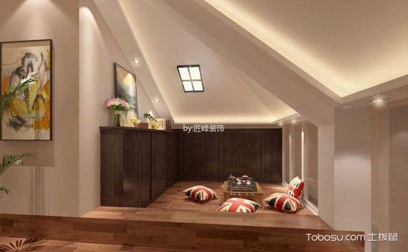 顶层加阁楼装修设计效果图,空间利用首选