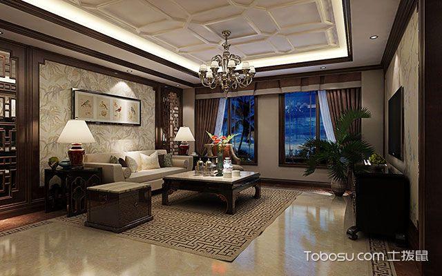 客厅吊顶效果图