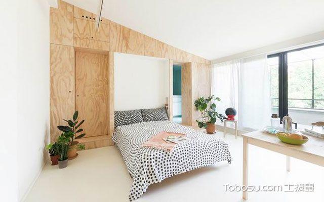 小面积卧室装修效果图