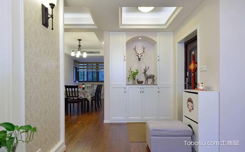 客厅玄关装修效果图,超有心机的入门风景区