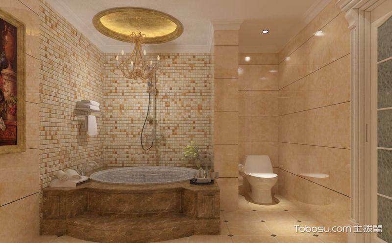 小卫生间装修设计效果图,实用美观很简单