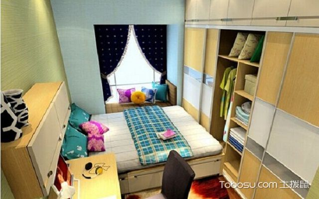 4平米小卧室设计