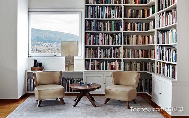 20平米书房装修