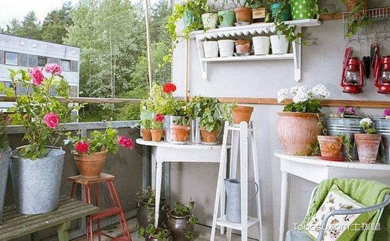 个性阳台花架设计,让你的阳台诗情画意