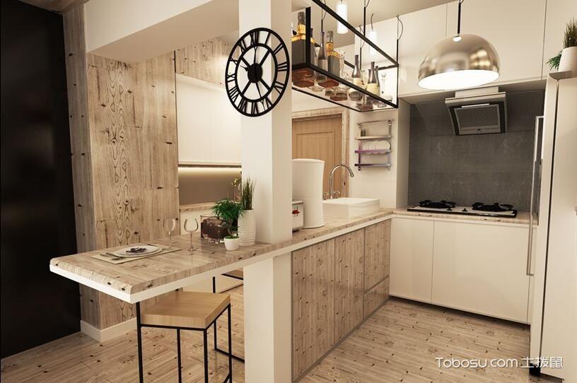 开放式厨房装修图,成就