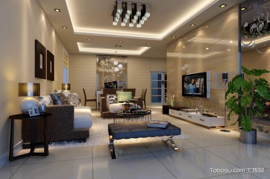 客厅吊顶装修效果图,家装画龙点睛之处
