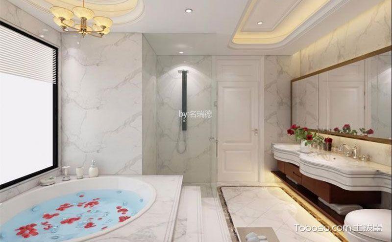 别墅浴室装修设计效果图,时尚大气令人向往