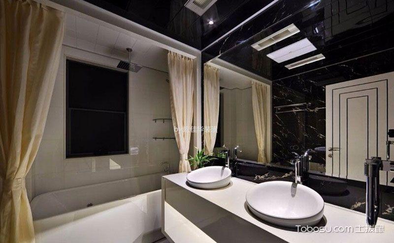 家庭浴室装修设计,放下疲惫拥抱温暖