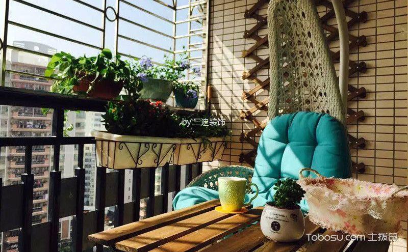 阳台铁艺花架,绽放另类光彩