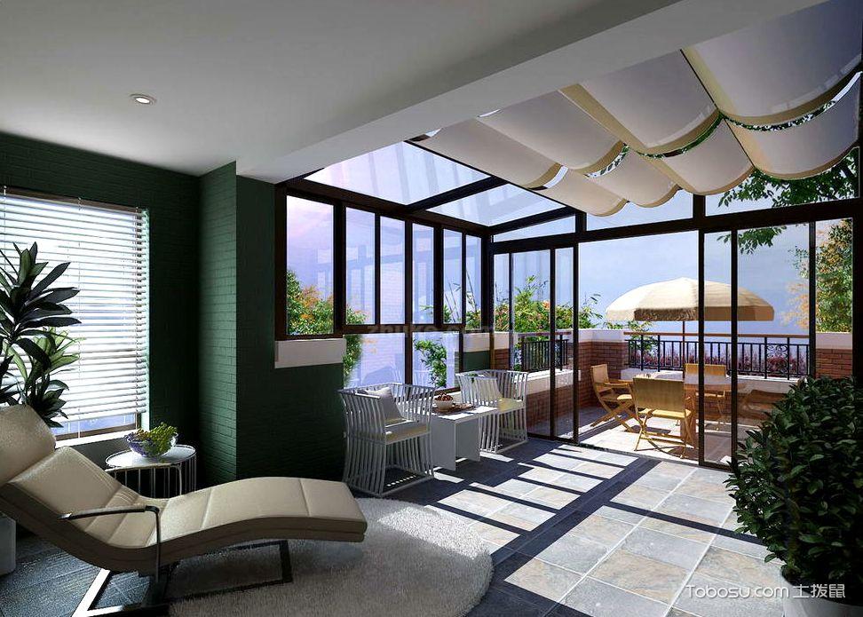 玻璃阳光房装修效果图,巧妙提升家居品质图片
