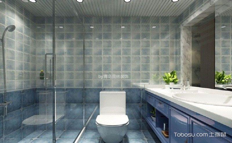 浴室柜效果图,卫生间装修好搭档