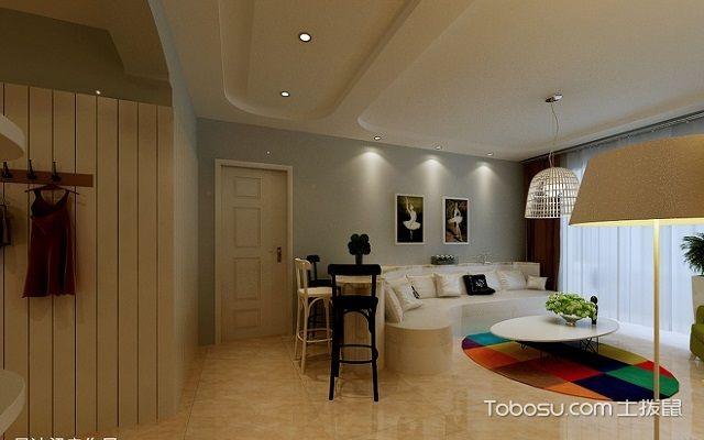 一室一厅房子装修图