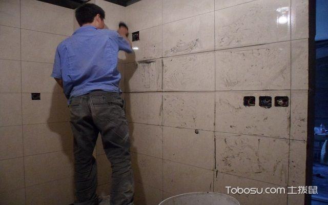 贴墙砖注意事项