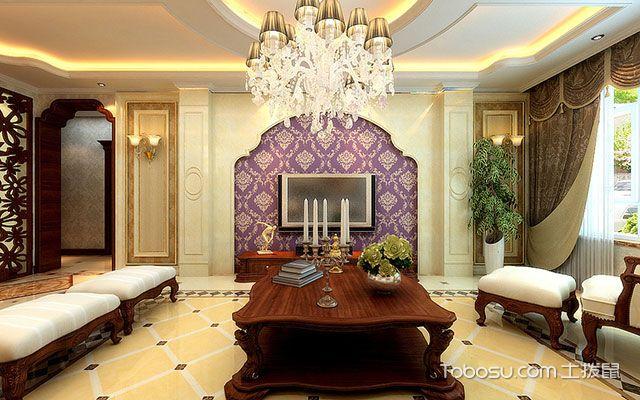 欧式风格背景墙效果图,放眼于高贵优雅的风景