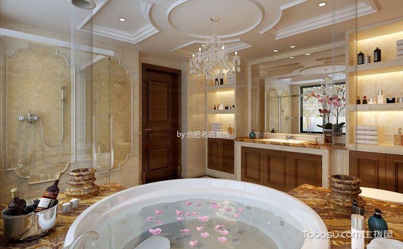 浴室墙面收纳设计,给空间表情加点料