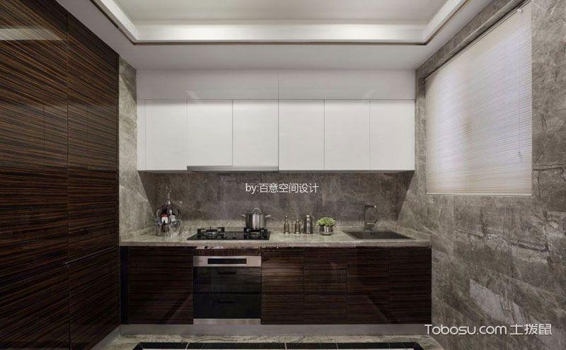 别墅整体厨房效果图,不甘平凡的百变空间